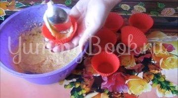 Постные апельсиновые кексы  - шаг 4