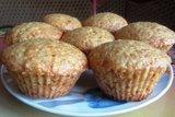 Постные апельсиновые кексы