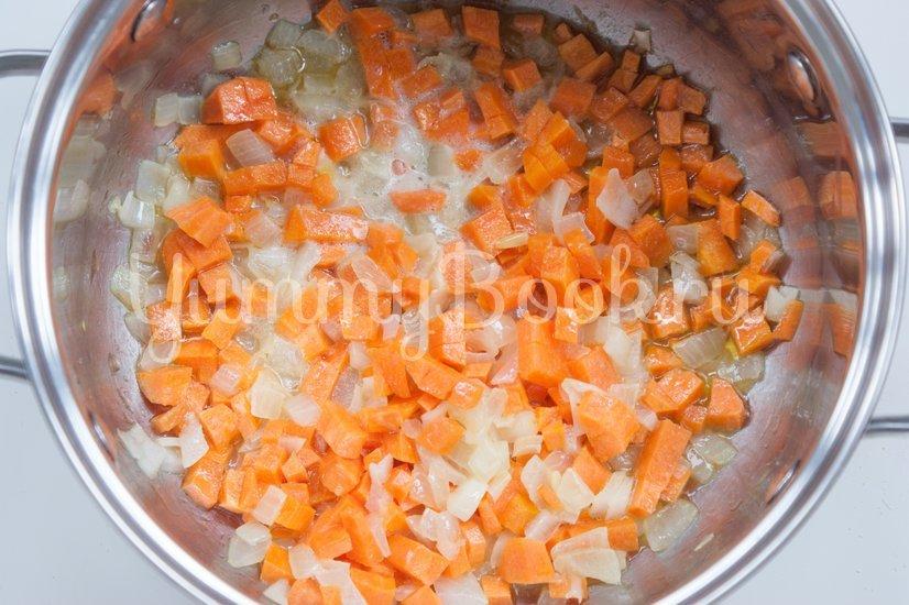 Острый томатный суп с гречневой крупой - шаг 1