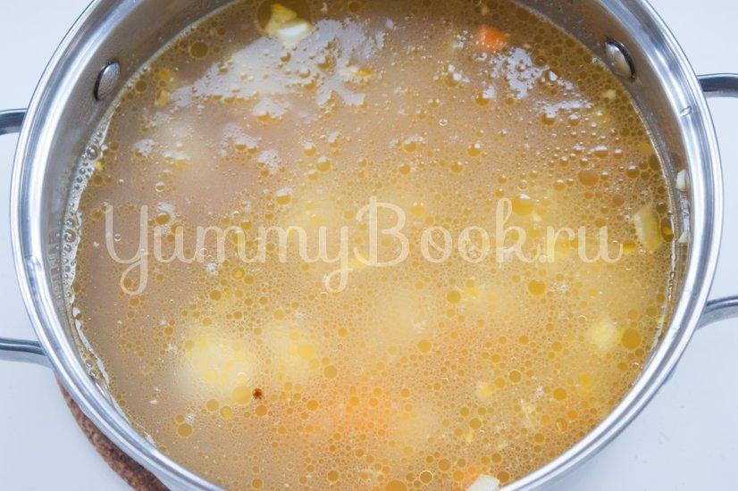 Острый томатный суп с гречневой крупой - шаг 3