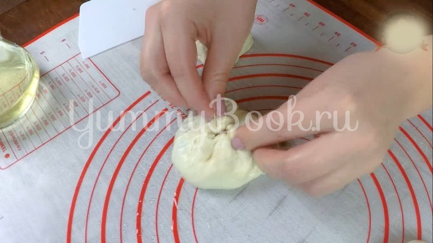 Беляши с мясом на кефире - шаг 9