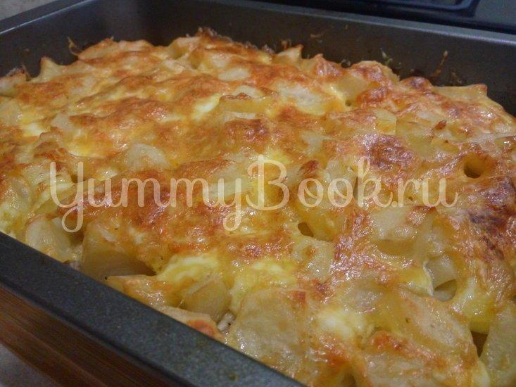 Картошка с мясом в духовке - шаг 8