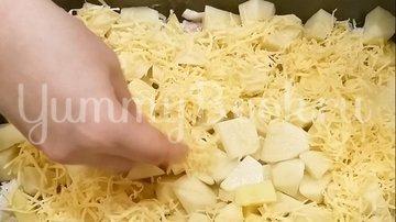 Картошка с мясом в духовке - шаг 6