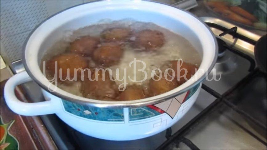 Картошка с грибами и чесноком в духовке (постный рецепт) - шаг 2