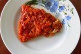 Ёрш тушёный с овощами в маринаде