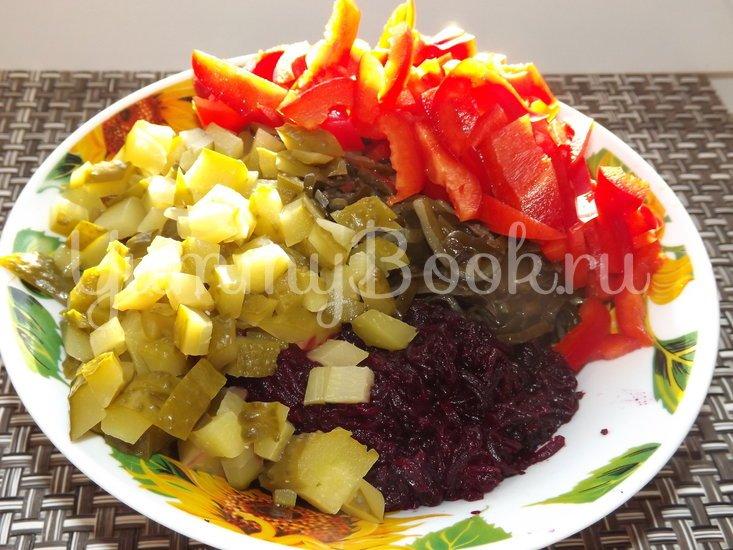 Салат со свеклой и морской капустой - шаг 3