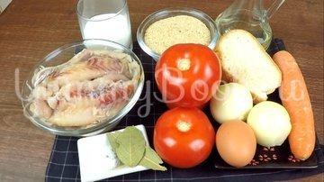 Рыбные котлеты из минтая в маринаде - шаг 1