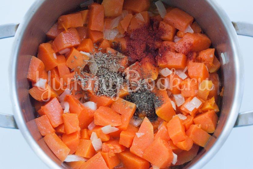 Суп-пюре с чечевицей и тыквой - шаг 2