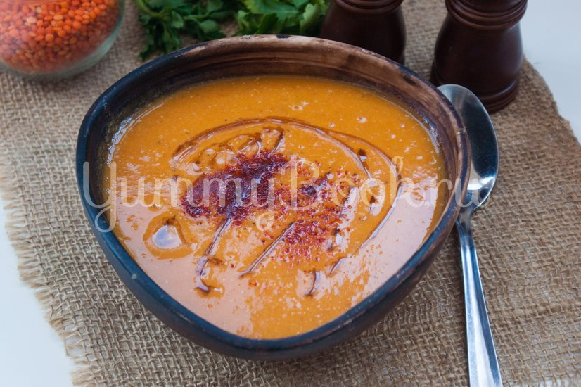 Суп-пюре с чечевицей и тыквой - шаг 6