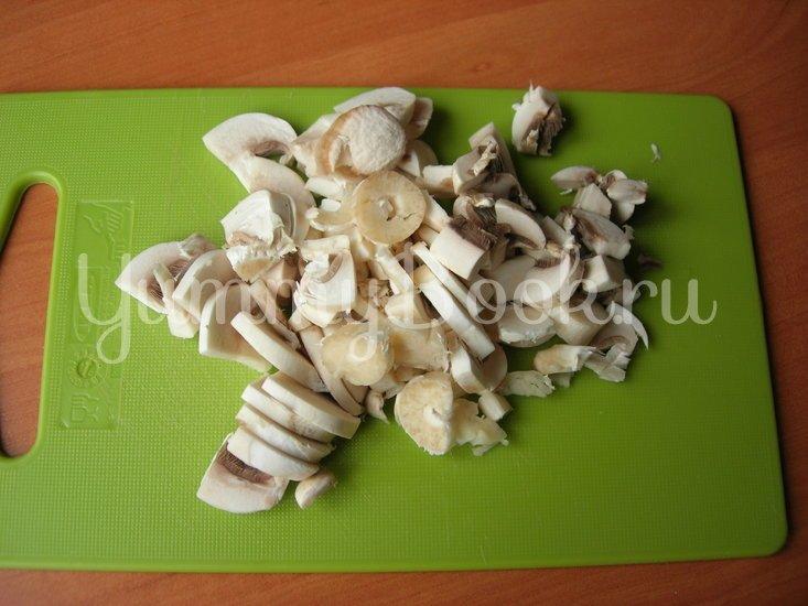 Картофель с грибами  (постное горячее блюдо)  - шаг 2
