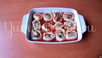 Картофель с грибами  (постное горячее блюдо)  - шаг 8