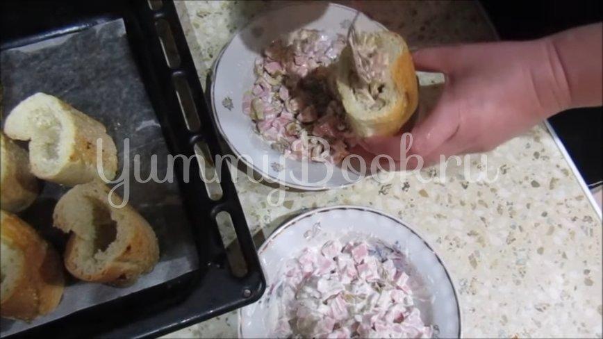 Горячая закуска в багете - шаг 3