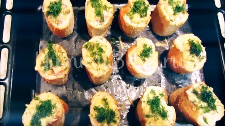 Горячая закуска в багете - шаг 5