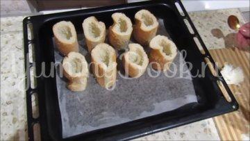 Горячая закуска в багете - шаг 2