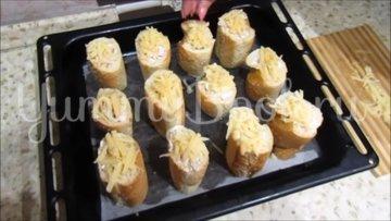 Горячая закуска в багете - шаг 4
