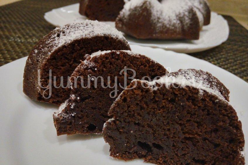 Постный шоколадный кекс на воде