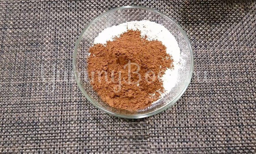Постный шоколадный кекс на воде - шаг 1