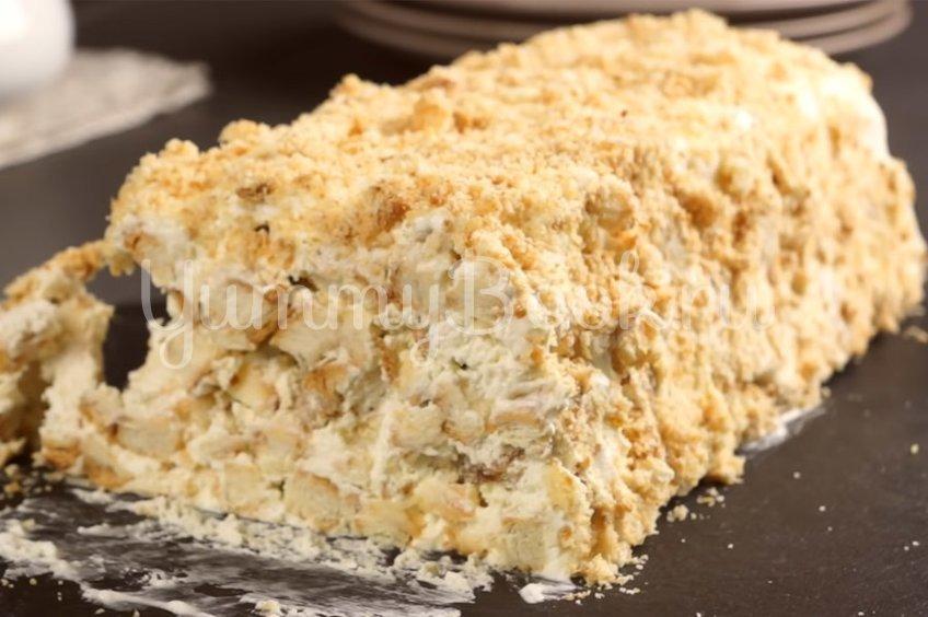 Торт из 3-х ингредиентов без выпечки
