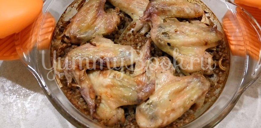Гречка с курицей в духовке - шаг 5