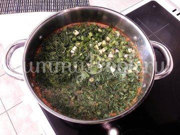 Суп с фасолью и копчёной курицей - шаг 10