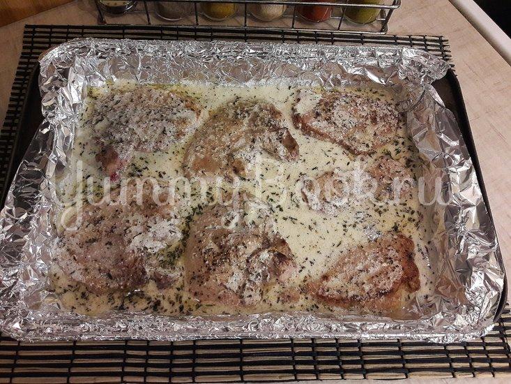 Свинина в сливочно-лимонном соусе - шаг 13