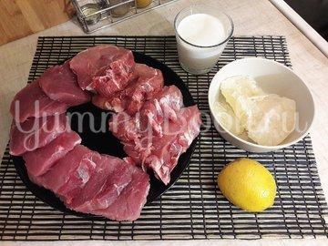Свинина в сливочно-лимонном соусе - шаг 2