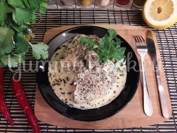 Свинина в сливочно-лимонном соусе - шаг 16
