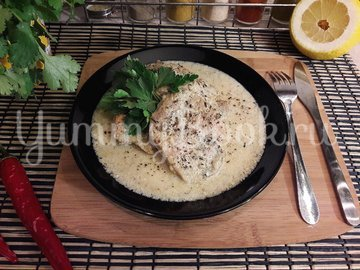 Свинина в сливочно-лимонном соусе - шаг 15