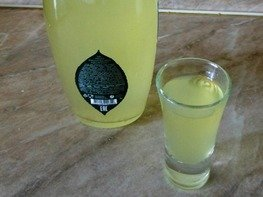 Водка лимонная