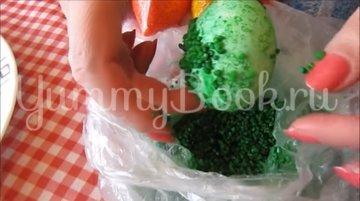 Мраморные яйца-крашенки в рисовой сечке - шаг 8