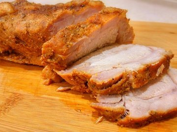 Буженина - сочное мясо в духовке