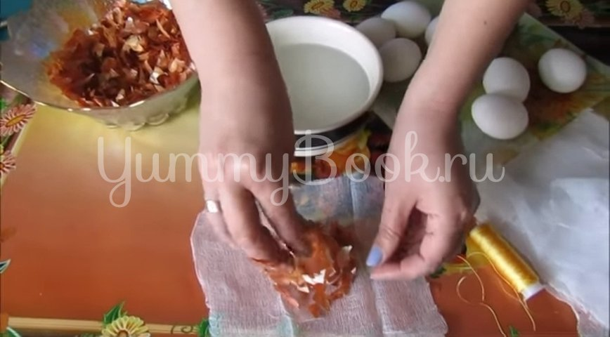 Мраморные и малахитовые яйца к Пасхе - шаг 2