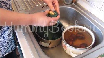 Мраморные и малахитовые яйца к Пасхе - шаг 4