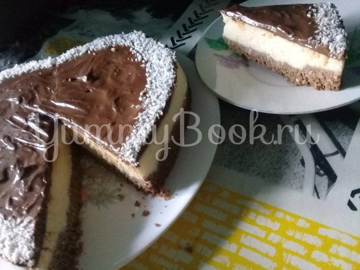 """Торт """"Баунти"""" (без выпечки) - шаг 4"""