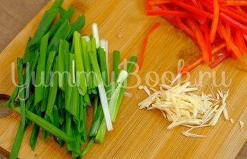 Картошка с мясом и овощами  - шаг 3