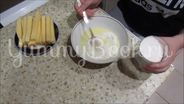 Сырные палочки к пиву - шаг 2