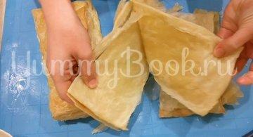 Торт Наполеон из слоеного теста с заварным кремом - шаг 3