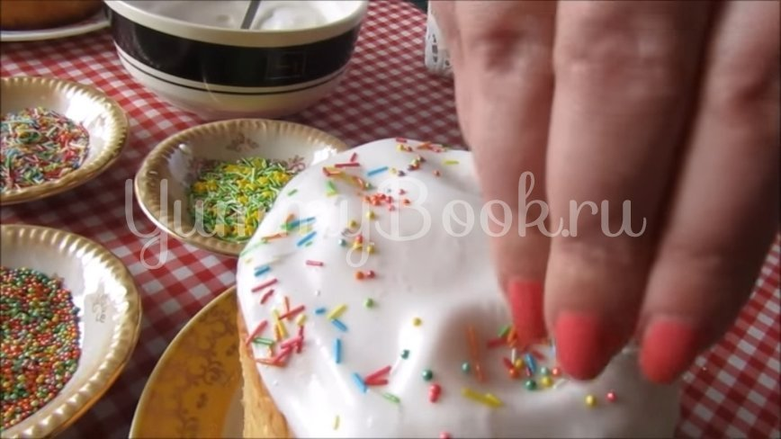 Пасхальные куличи на молоке  - шаг 10