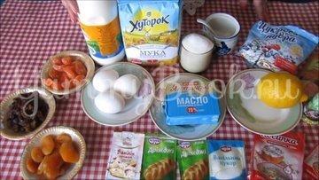 Пасхальные куличи на молоке  - шаг 1