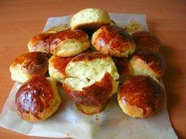 Творожные булочки (дрожжевые)