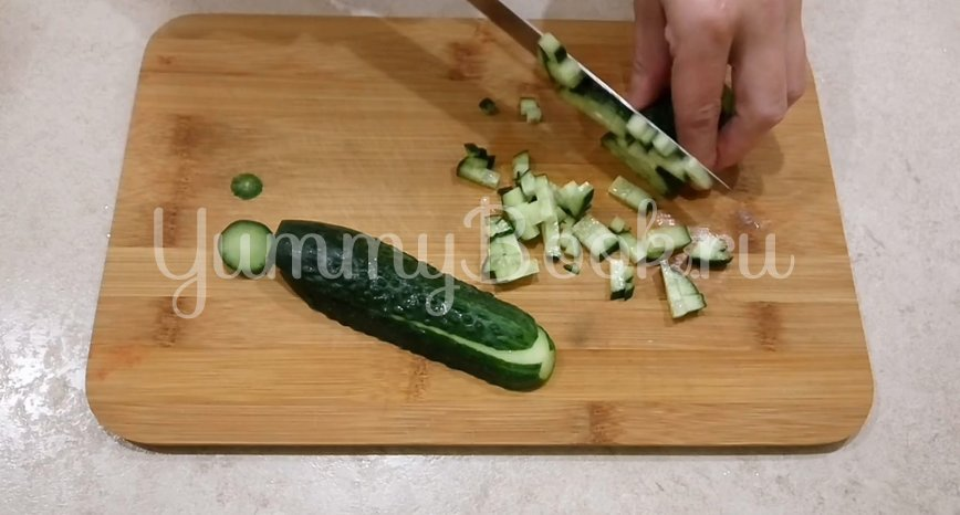 Простой салат с тунцом  - шаг 1