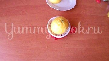 Запеченный стейк индейки с яблочным соусом - шаг 4