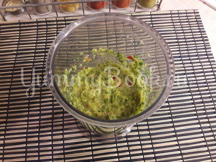 """Сырок в """"зелёном"""" овощном маринаде - шаг 4"""