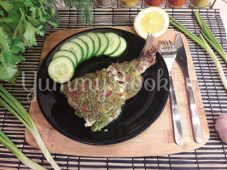 """Сырок в """"зелёном"""" овощном маринаде - шаг 7"""
