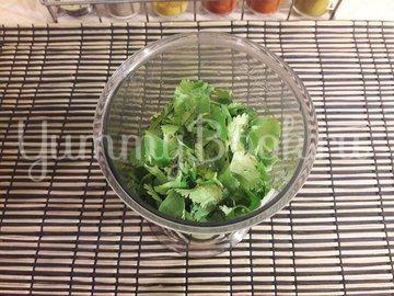 """Сырок в """"зелёном"""" овощном маринаде - шаг 3"""