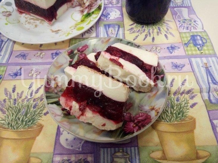 Творожно - вишневый десерт - шаг 6