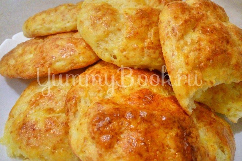 Творожные булочки без дрожжей