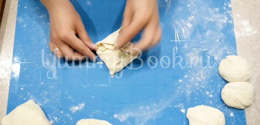 Лепёшки с сыром Сулугуни - шаг 5
