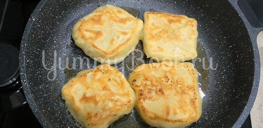 Лепёшки с сыром Сулугуни - шаг 7