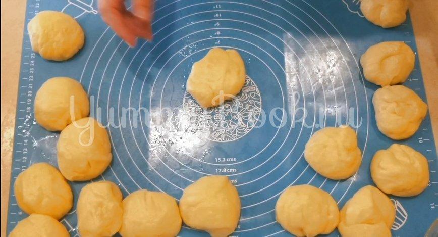 Воздушные булочки с маком из дрожжевого теста - шаг 6
